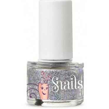 Brokat do paznokci Snails Silver Glitter