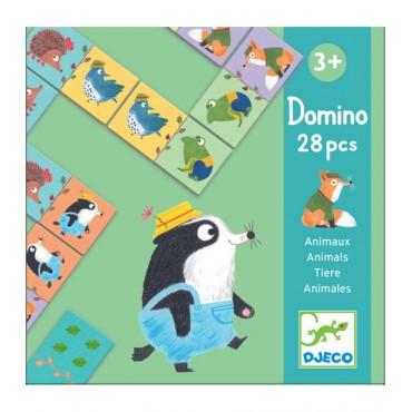 Domino Zwierzątka Djeco