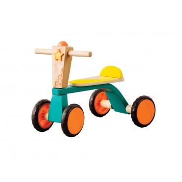 Drewniany rowerek biegowy –...