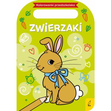 Kolorowanki przedszkolaka Zwierzaki Wydawnictwo Wilga