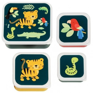 Lunchbox Tygrysek zestaw 4...