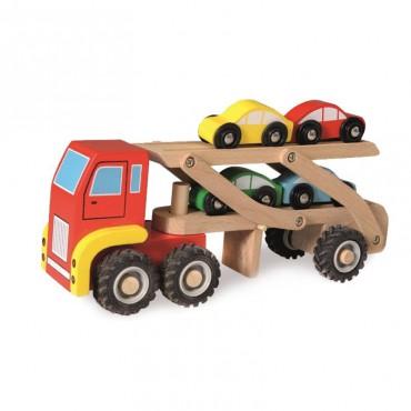 Drewniana ciężarówka...