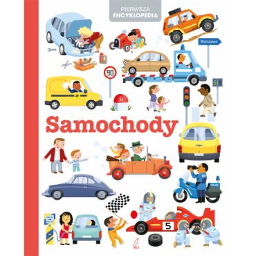 Pierwsza encyklopedia Samochody Wydawnictwo Wilga