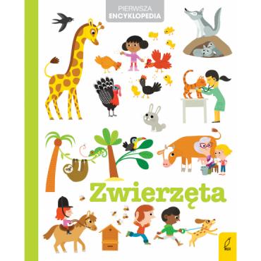 Pierwsza encyklopedia Zwierzęta Wydawnictwo Wilga