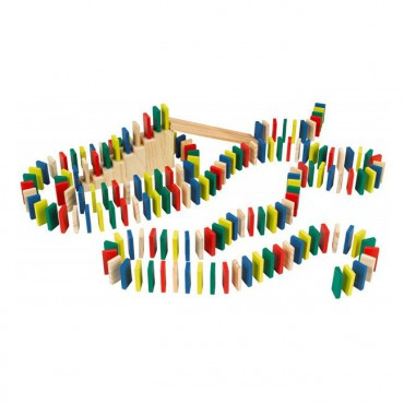 Drewniane domino Rally...