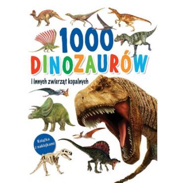 1000 dinozaurów i innych zwierząt kopalnych Wydawnictwo Olesiejuk