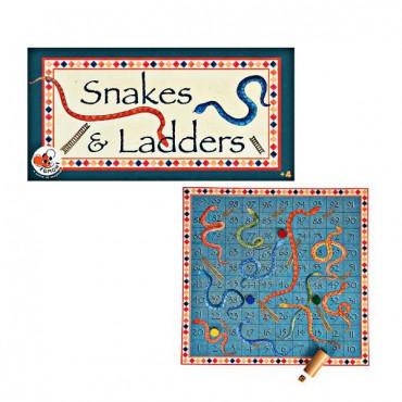 Planszowa gra rodzinna Węże...