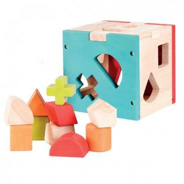 Sorter drewniany Egmont Toys