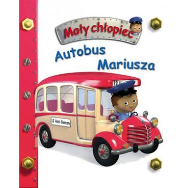 Mały chłopiec Autobus Mariusza Wydawnictwo Olesiejuk
