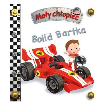 Mały chłopiec Bolid Bartka Wydawnictwo Olesiejuk