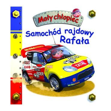 Mały chłopiec Samochód rajdowy Rafała