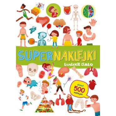 Supernaklejki Ludzkie ciało Wydawnictwo Olesiejuk