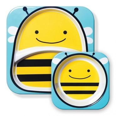 Zestaw jedzeniowy Zoo Pszczoła Skip Hop