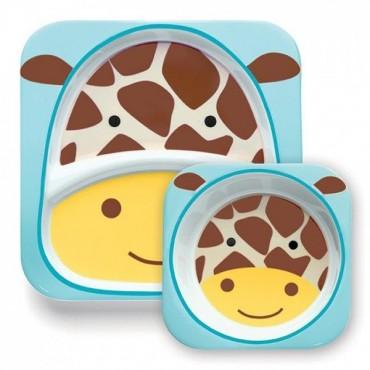Zestaw jedzeniowy Zoo Żyrafa Skip Hop