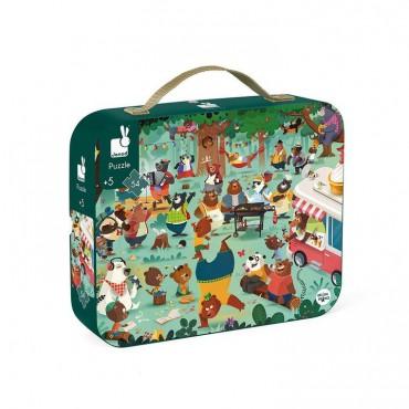 Puzzle w walizce Rodzina...