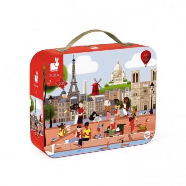 Puzzle w walizce Paryż 200...