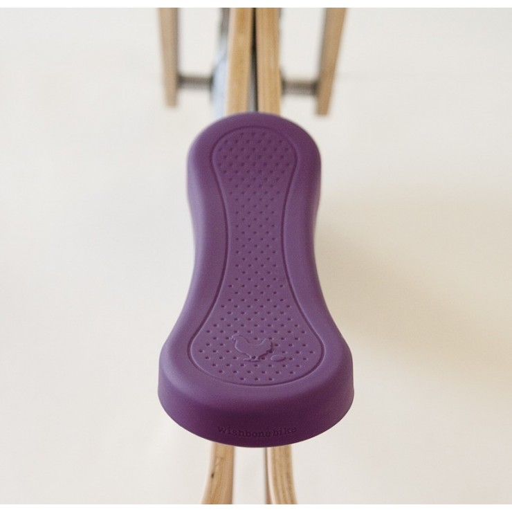 Nakładka siodełka purpurowa Wishbone