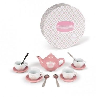 Serwis do herbaty 14 elementów Macaron Janod