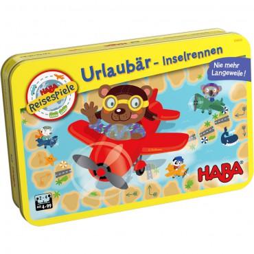 Gra podróżna Wakacyjny lot Misiów Haba