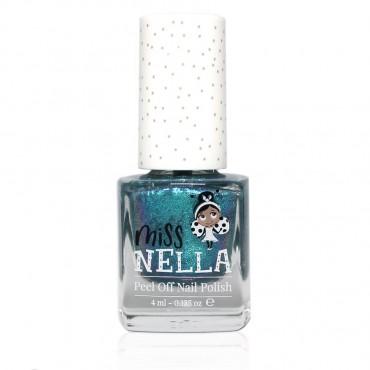Lakier do paznokci dla dzieci Peel off Blue the Candles Miss Nella