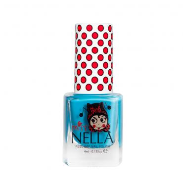 Lakier do paznokci dla dzieci Peel off Mermaid Blue Miss Nella