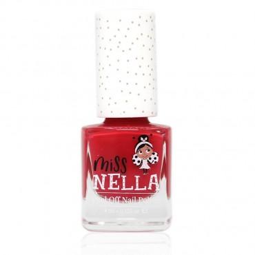 Lakier do paznokci dla dzieci Peel off Cherry Macaroon Miss Nella