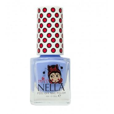 Lakier do paznokci dla dzieci Non Peel off Blue Bell Miss Nella