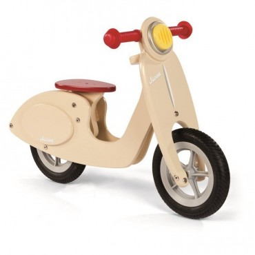 Rowerek biegowy waniliowy Scooter Janod