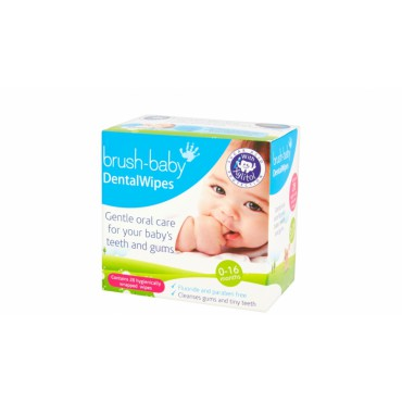 Brush-Baby Dental Wipes -...