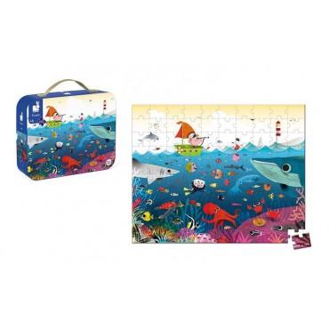 Puzzle w walizce Podwodny...