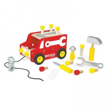Ciężarówka z narzędziami do ciągnięcia Bricolo Janod