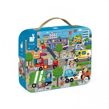 Puzzle w walizce Miasto 36...