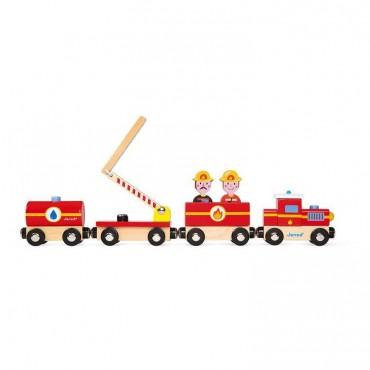 Pociąg drewniany Straż...