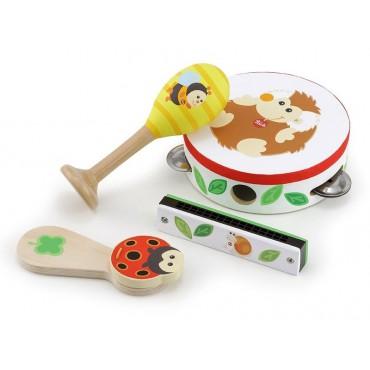 Drewniane instrumenty Las z...