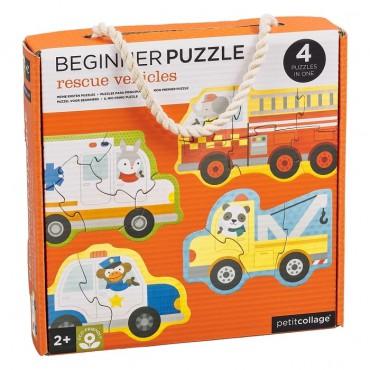 Pierwsze Puzzle Pojazdy...