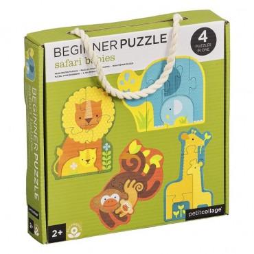 Pierwsze Puzzle Safari...