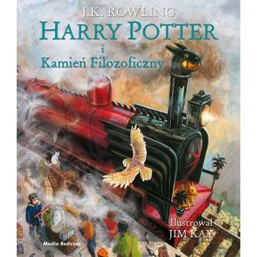 Harry Potter i Kamień Filozoficzny wydanie ilustrowane