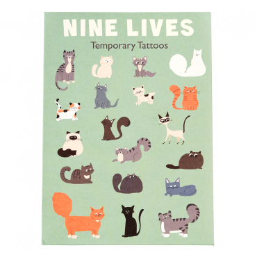 Tatuaże zmywalne dla dzieci Koty Rex London