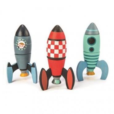 Drewniane rakiety kosmiczne...