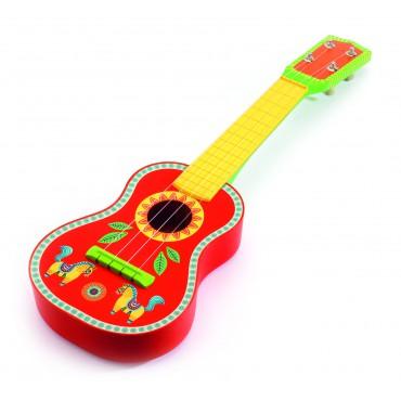 Drewniana gitara Ukukélé Djeco