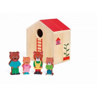 Drewniana zabawka mini...