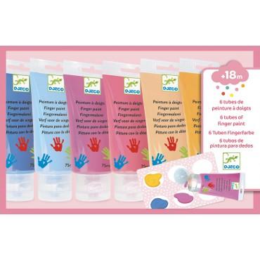 Farby do malowania palcami...