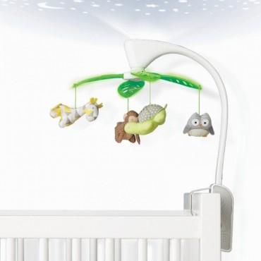 Karuzela Safari z projektorem i pozytywką Skip Hop