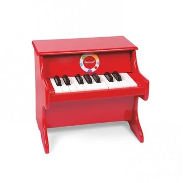 Czerwone pianino Confetti Janod