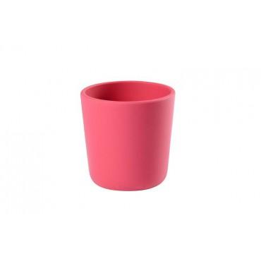 Silikonowy kubek pink Beaba