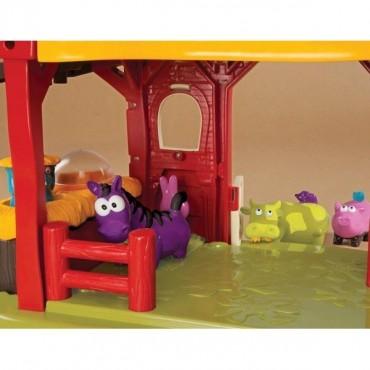 Interaktywna zagroda-stodoła z odgłosami zwierząt B. Toys