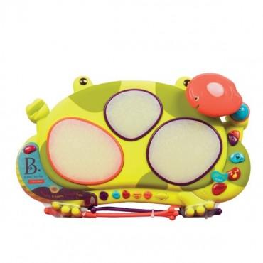 Perkusja – żaba Ribbit-tat-tat B. Toys