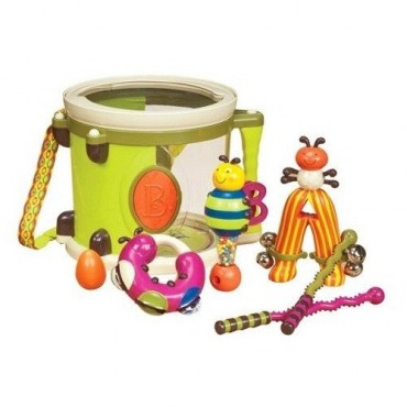 Bębenek z instrumentami ParumPumPum B. Toys