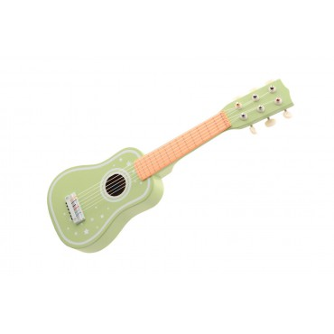 Drewniana gitara klasyczna...