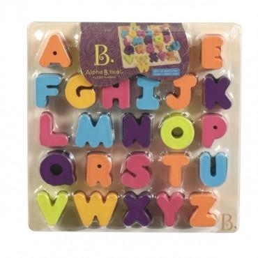 Drewniane puzzle Literki AlphaB.tical B. Toys